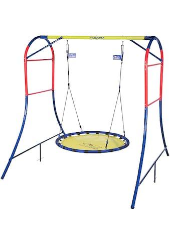 Hudora Nestschaukel »Schaukelgestell 64023«, BxLxH: 207x230x215 cm, mit Nestschaukel... kaufen