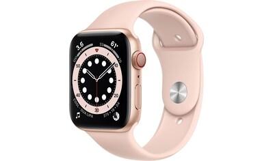 Apple Series 6 GPS + Cellular, Aluminiumgehäuse mit Sportarmband 44mm Watch kaufen
