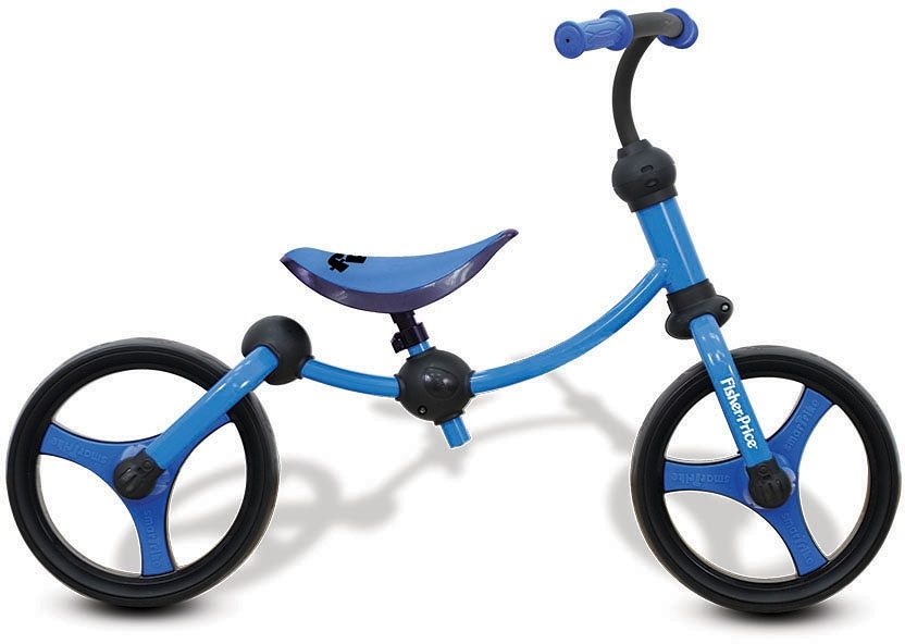 SmaTrike® Laufrad, »Fisher PriceBalance Bike blau«