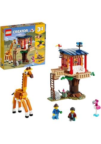 LEGO® Konstruktionsspielsteine »Safari-Baumhaus (31116), LEGO® Creator 3in1«, (397 St.) kaufen