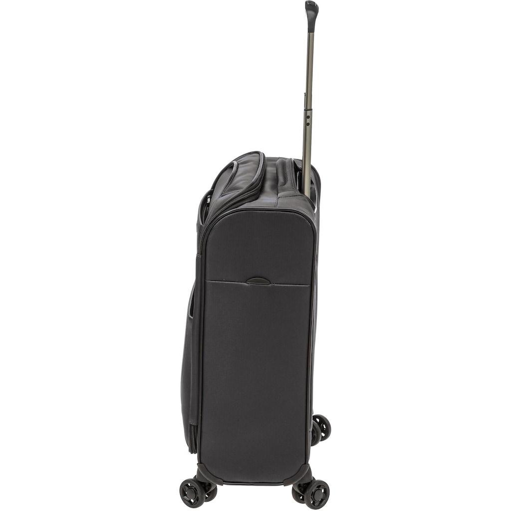 Stratic Weichgepäck-Trolley »Unbeatable 3 S«, 4 Rollen, USB-Schnittstelle