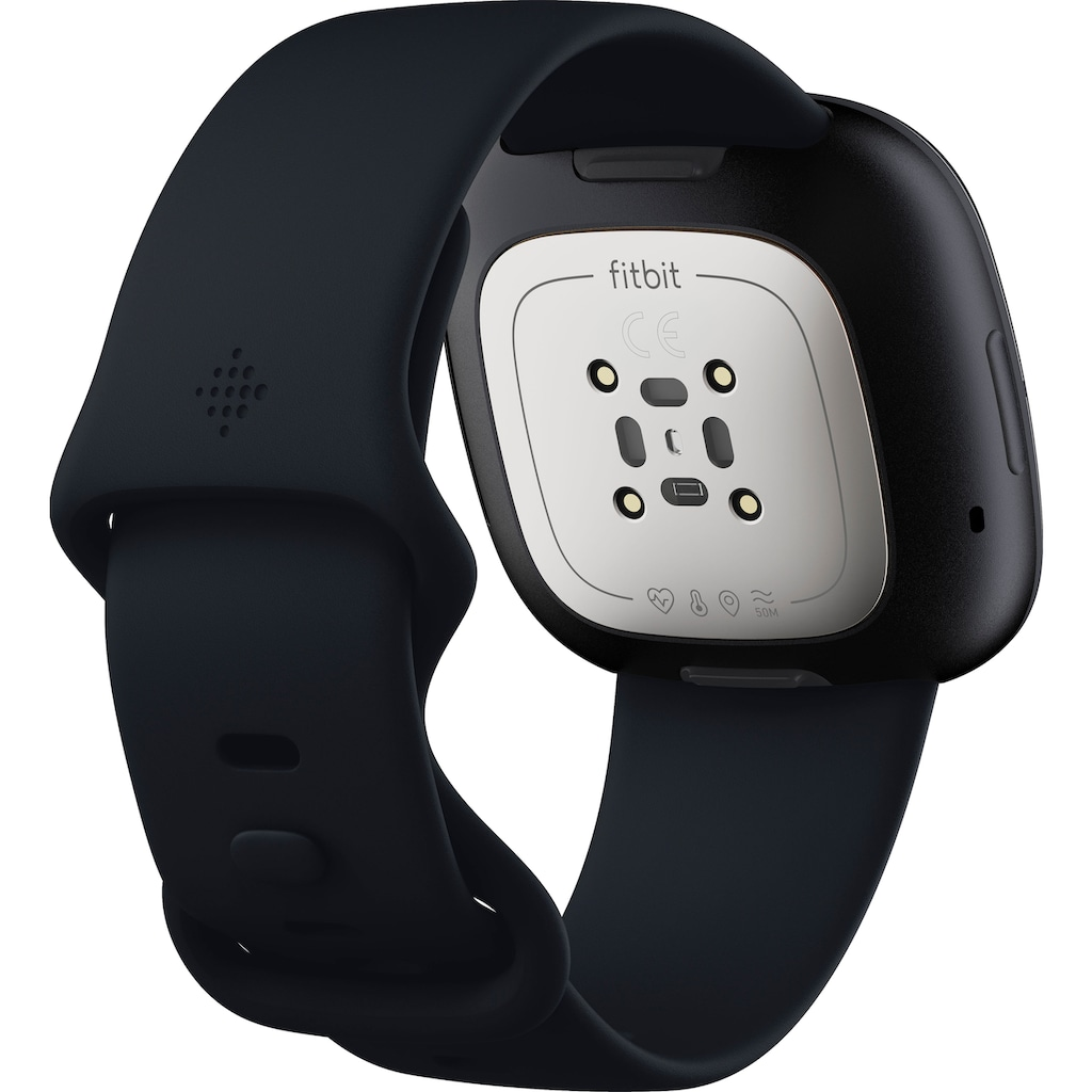 fitbit Smartwatch »Sense«, ( FitbitOS5 inkl. 6 Monate Fitbit Premium)