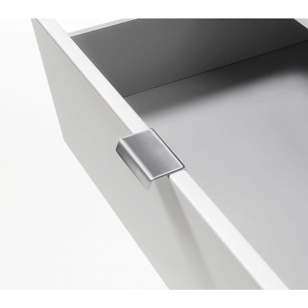 Express Solutions Kombikommode, Breite 130 cm, mit Glas