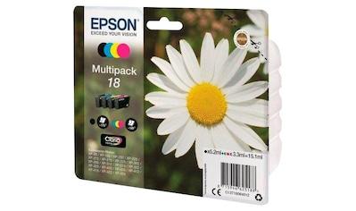 Epson »Tinte Multipack 18 (C13T18064012)« Tintenpatrone kaufen