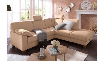 Home affaire Ecksofa »Belfort«, mit Federkern, wahlweise mit Bettfunktion und Stauraum kaufen