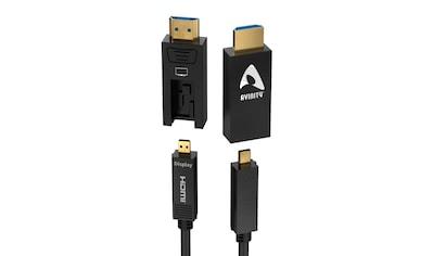 AVINITY Optisch, aktives HDMI - Kabel mit Adapter D - A, »ultradünn und vergoldet« kaufen