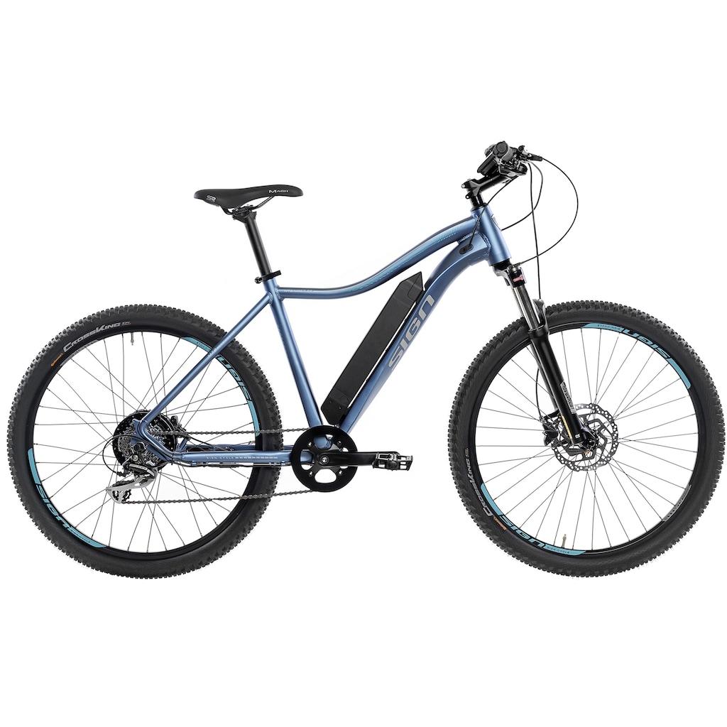SIGN E-Bike, 8 Gang, Shimano, Shimano Acera, Heckmotor 250 W