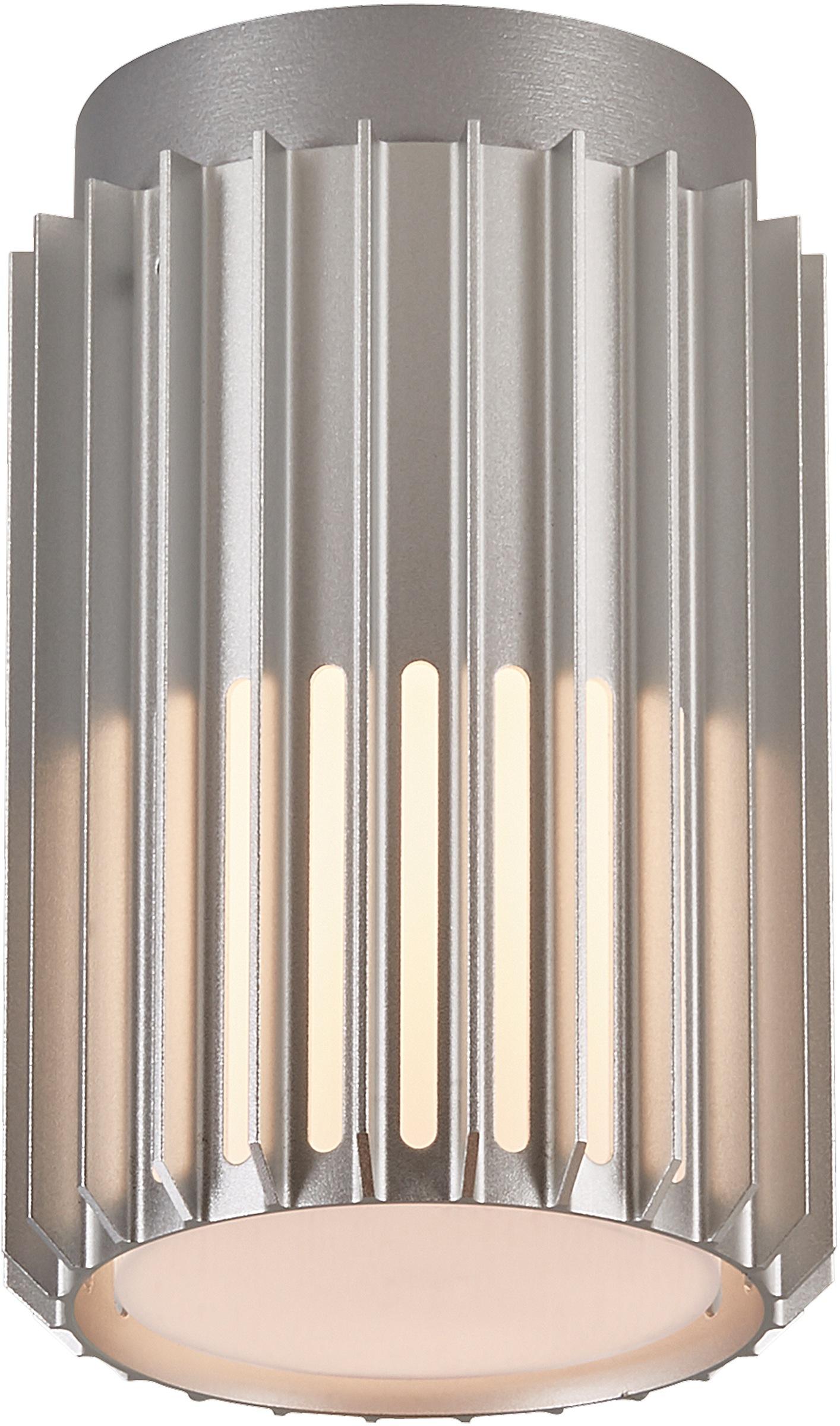 Nordlux Außen-Deckenleuchte MATR, E27, langlebiges eloxiertes Aluminium