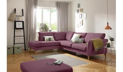 Home affaire Ecksofa »Marseille«, skandinavischer Stil, 3 Bezugsqualitäten, mit... kaufen
