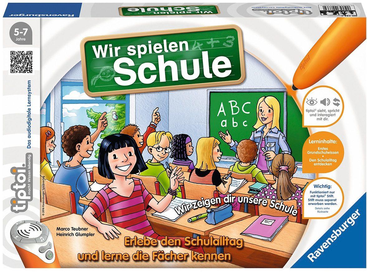 Ravensburger Spiel, tiptoi - Wir spielen Schule bunt Kinder Tiptoi Lernspielzeug Spiele