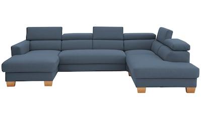 Home affaire Wohnlandschaft »Steve Premium Luxus«, is 140kg pro Sitz belastbar, incl.... kaufen