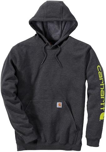 Carhartt Kapuzensweatshirt »SLEEVE«, Herren-Hoodie mit Loose Fit kaufen
