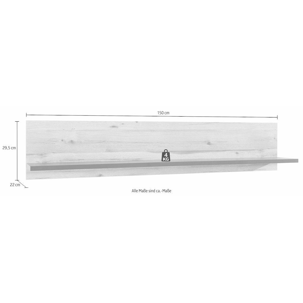 FORTE Wandregal, Breite 150 cm