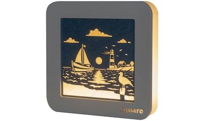Weigla LED Dekolicht »Wandbild Maritim«, 1 St., Neutralweiß, beidseitiges Motiv/... kaufen
