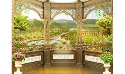 Papermoon Fototapete »Fresco Garden Terrace« kaufen