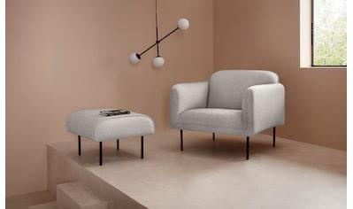 LeGer Home by Lena Gercke Sessel »Finia«, in drei verschiedenen Bezügen, mit Metallbeinen kaufen