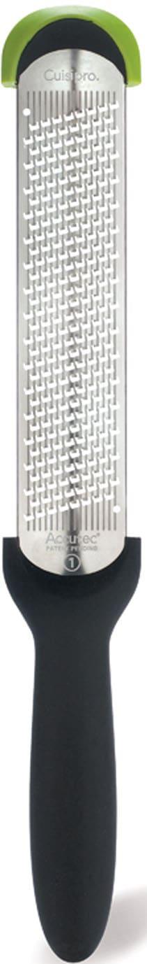 Cuisipro Küchenreibe, (Kronenreibe) fein, für müheloses Reiben, mit Surface Glide TechnologyTM schwarz Küchenreibe Reiben Hobel Kochen Backen Haushaltswaren
