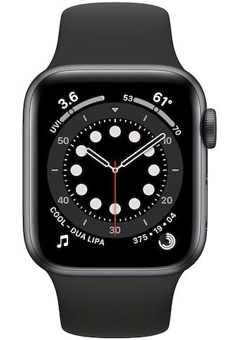 Apple Watch »Series 6 GPS, Aluminiumgehäuse mit Sportarmband 40mm« (, Watch OS, inkl. Ladestation (magnetisches Ladekabel) kaufen