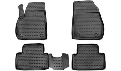 WALSER Passform-Fußmatten »XTR«, Opel, Zafira C Tourer, Großr.lim., (5 St., 2... kaufen