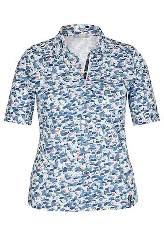 Rabe T-Shirt, mit gepunktetem Allover-Muster und Glitzersteinen kaufen