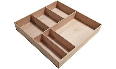 FACKELMANN Schubladeneinsatz »Stanford«, Buche, BxTxH: 38 x 37 x 4,5 cm kaufen