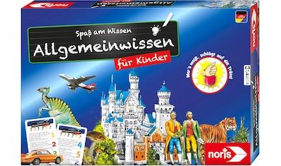 Noris Spiel »Spaß am Wissen - Allgemeinwissen für Kinder« kaufen