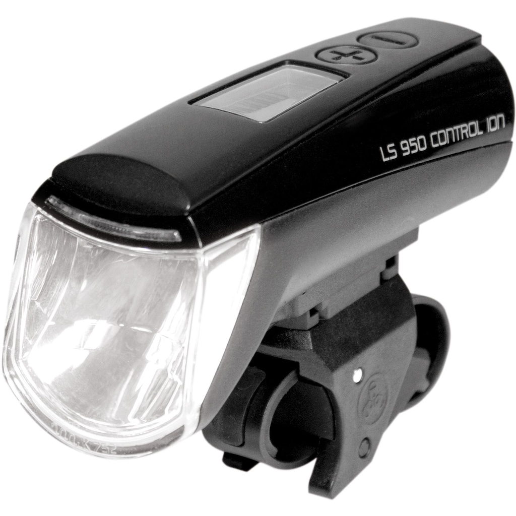 Trelock Fahrrad-Frontlicht »LS 950 CONTROL ION«, (Set, Front- und Rücklicht)