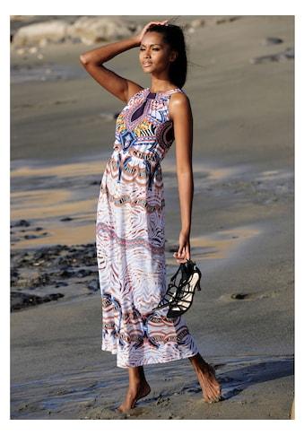 Alba Moda Strandkleid mit ausdruckstarkem Druck kaufen