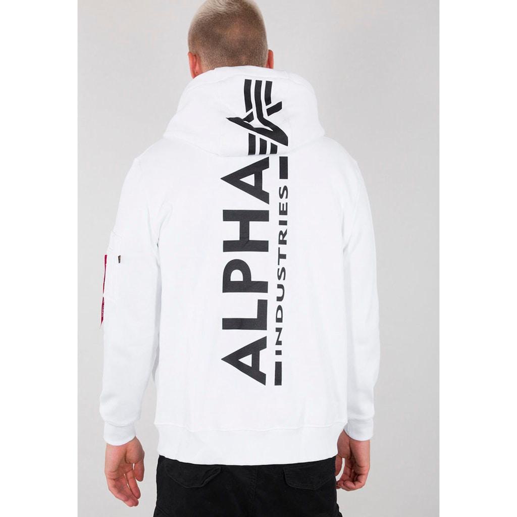 Alpha Industries Kapuzensweatjacke