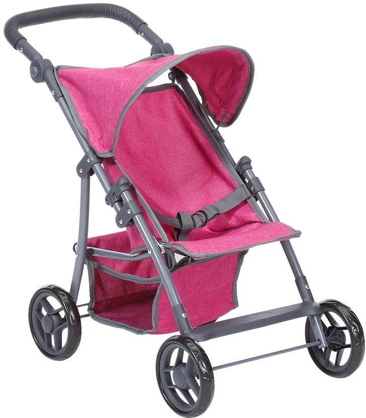 Knorrtoys Puppenbuggy Liba, berry rosa Kinder Puppenzubehör Puppen Puppenwagen