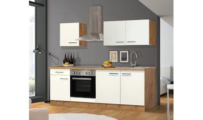 Flex-Well Küchenzeile »VINTEA«, mit E-Geräten, Breite 210 cm kaufen
