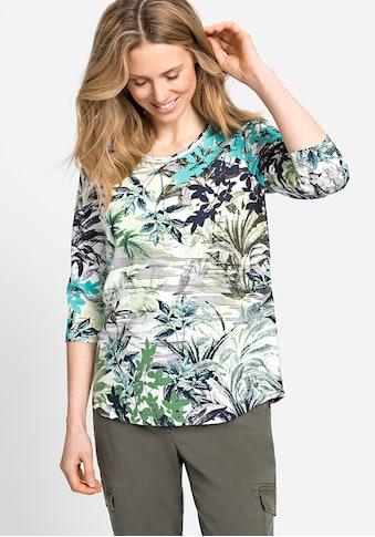 Olsen Rundhalsshirt, mit Naturmotiv kaufen