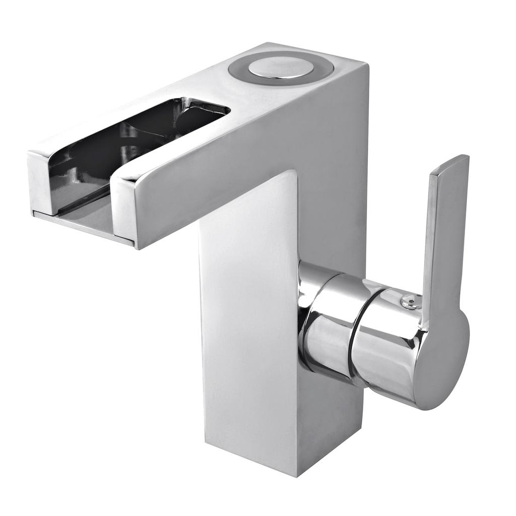 Schütte Waschtischarmatur »LED-Schwallarmatur«, Wasserhahn