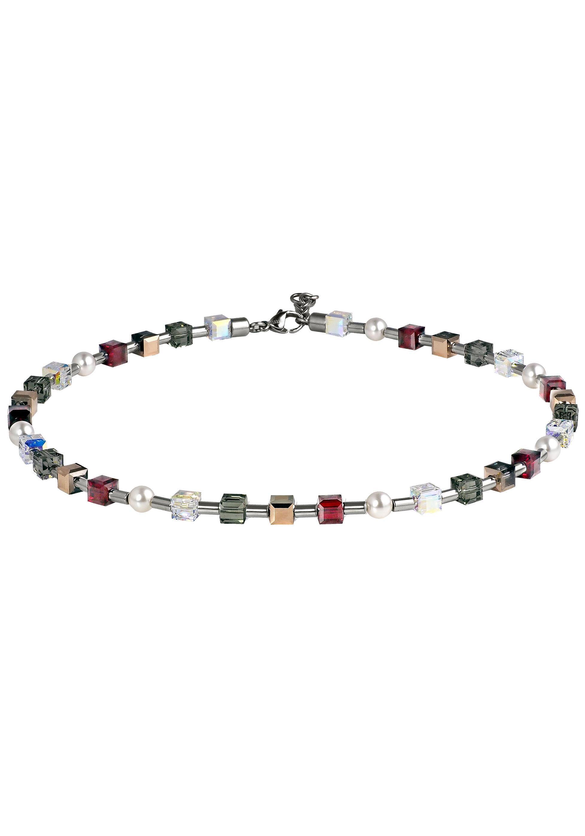Firetti Kette ohne Anhänger Edelstahl Draht bunt glänzend | Schmuck > Halsketten > Ketten mit Anhänger | Bunt | Firetti