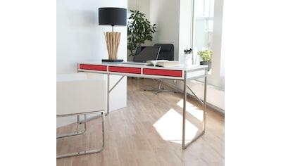 hammel Schreibtisch »MISTRAL«, mit Metallgestell und drei Schubladen, Breite 137,4 cm,... kaufen