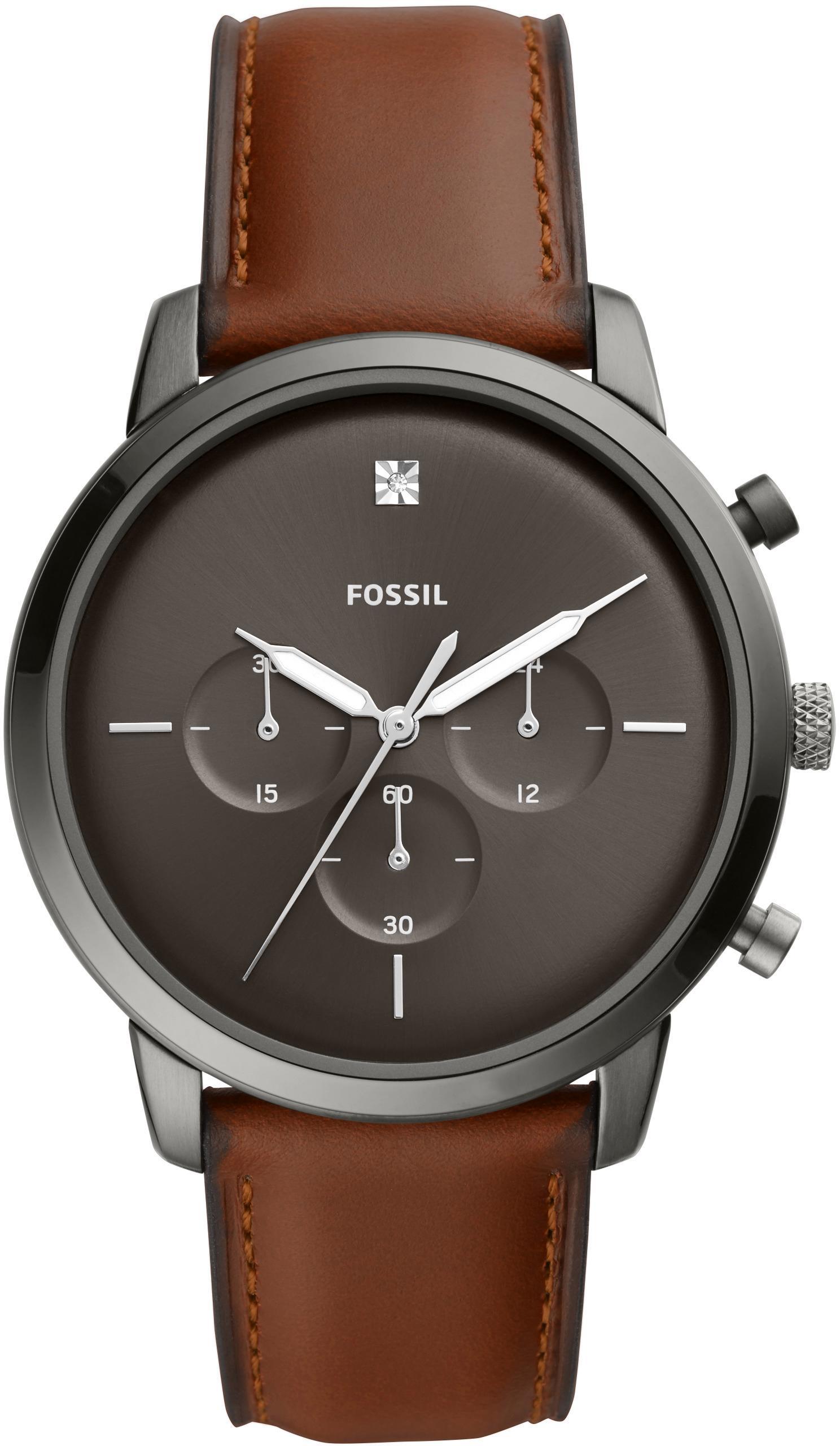 Fossil Chronograph NEUTRA CHRONO FS5582   Uhren   Braun   Fossil