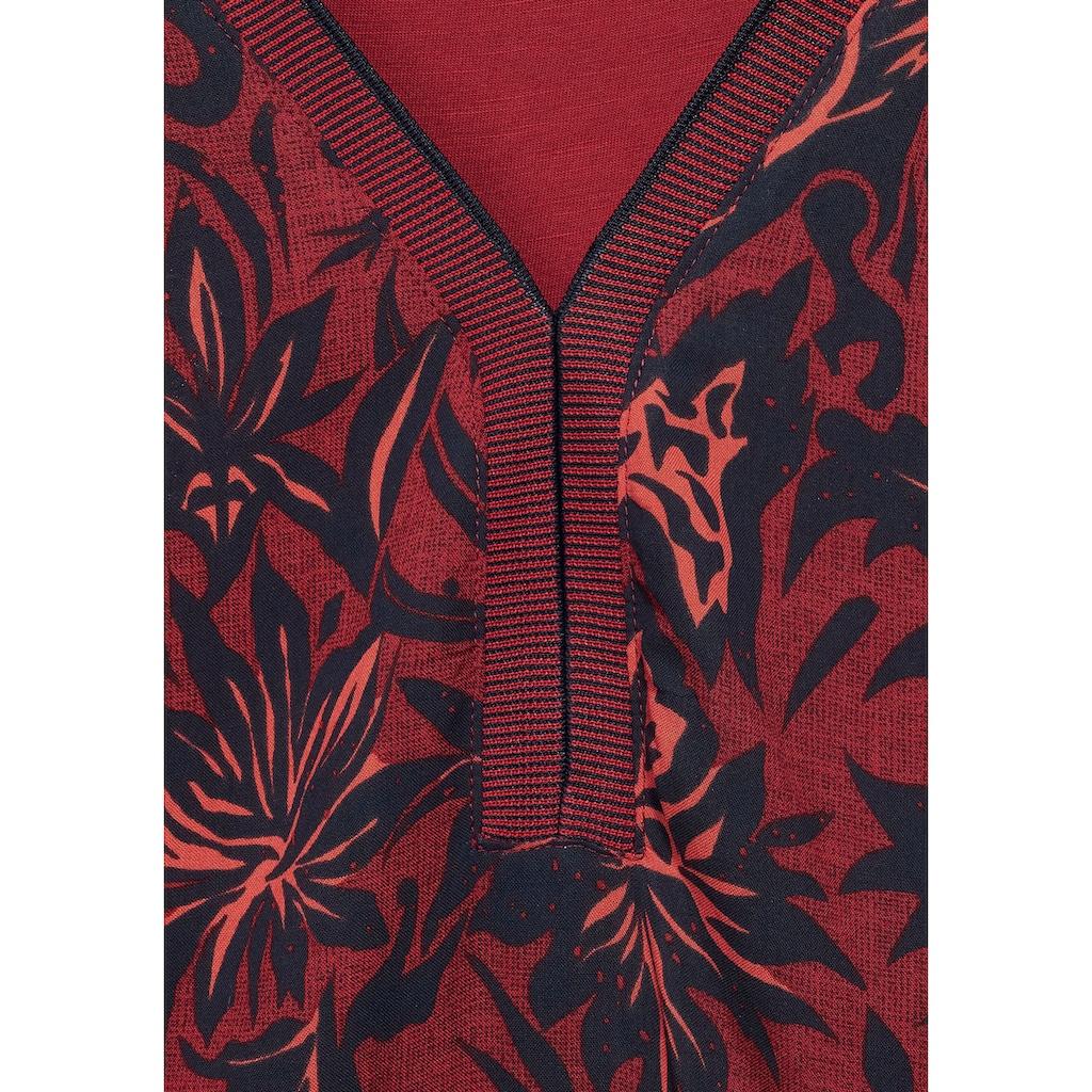 Cecil V-Shirt, mit schönem Printmuster