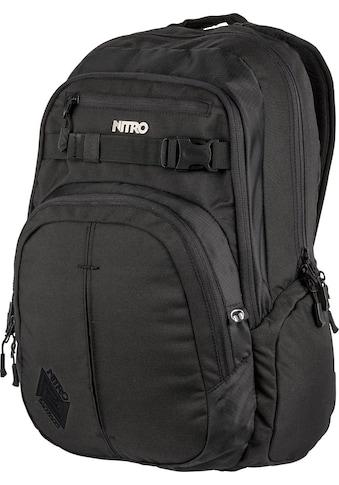 NITRO Schulrucksack »Chase, True Black« kaufen