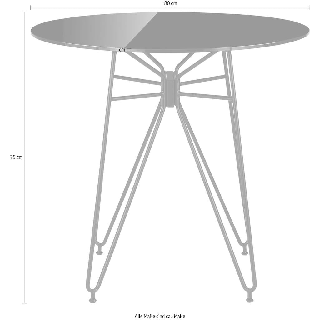 COUCH♥ Esstisch »Macht die Runde«, In 2 Größen