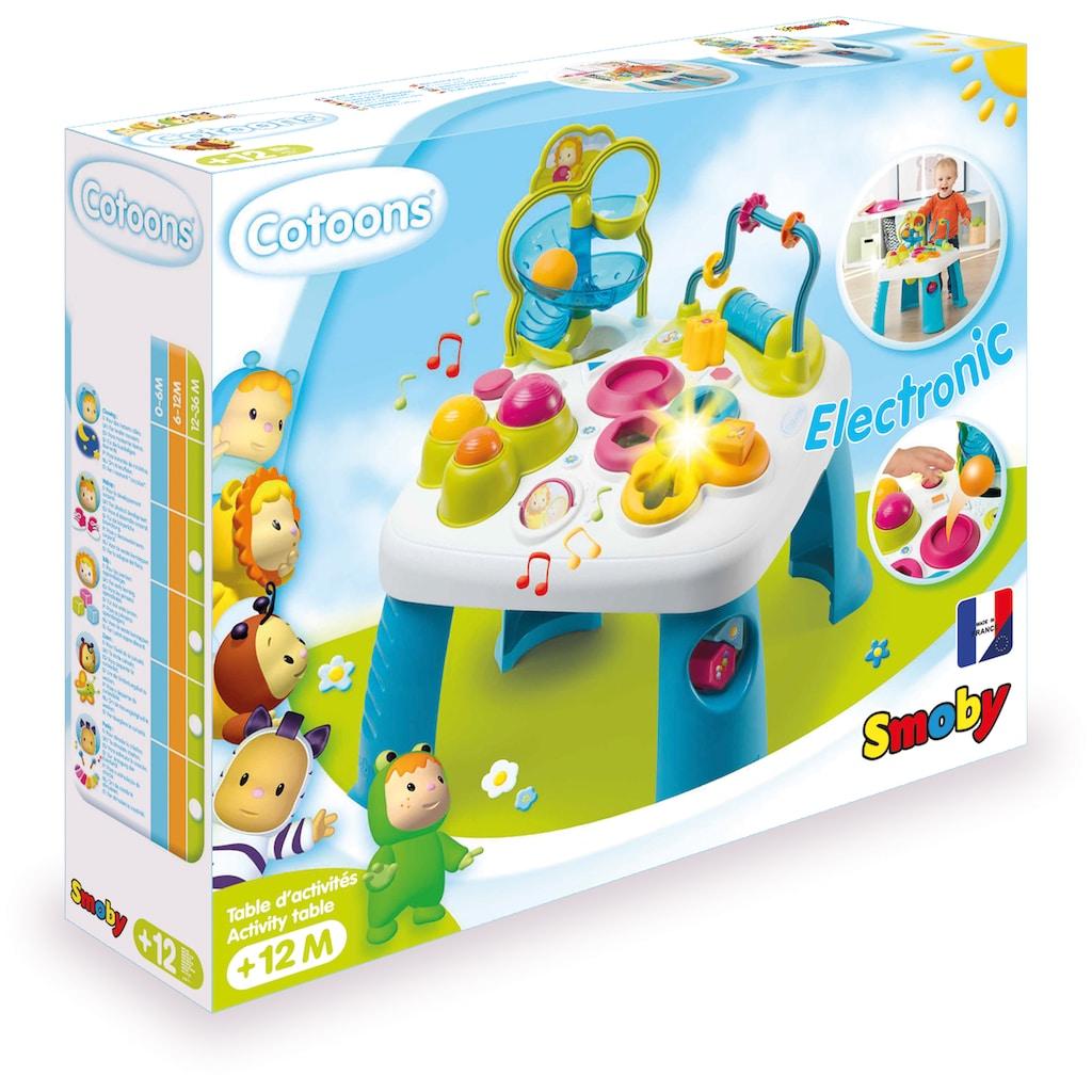 Smoby Spieltisch »Cotoons® Activity-Spieltisch«, Made in Europe