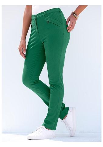 MIAMODA Hose mit Reißverschluss - Taschen seitlich kaufen