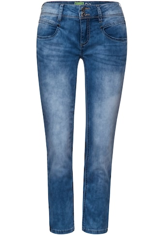 STREET ONE 3/4-Jeans »Jane«, mit Used-Waschung kaufen