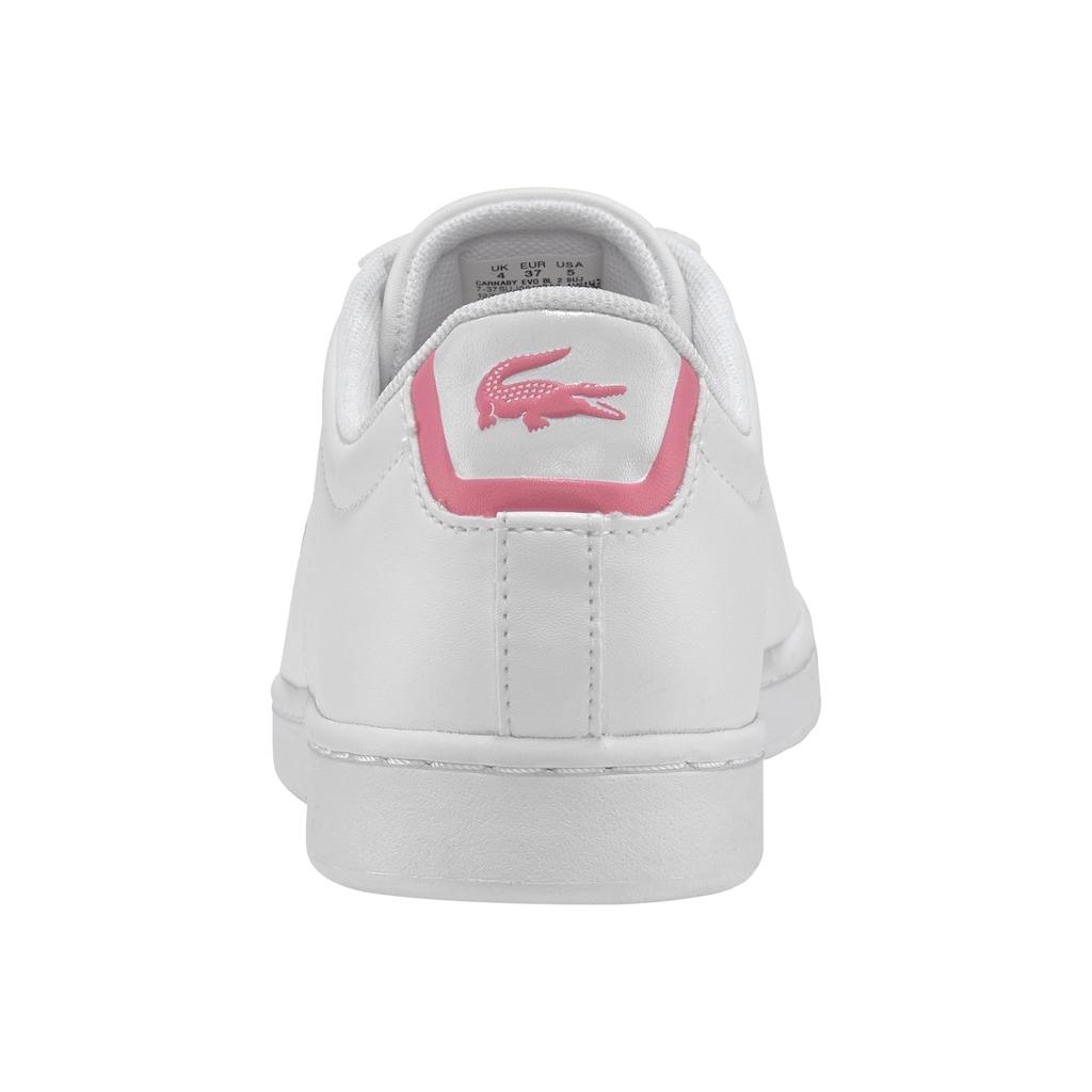 Lacoste Sneaker »CARNABY EVO BL 2 SUJ«
