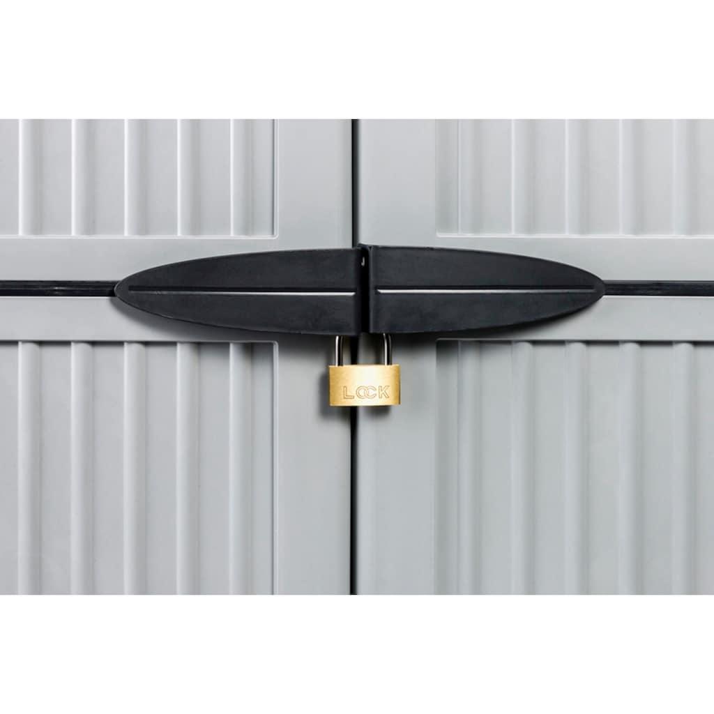 Kreher Mehrzweckschrank »Noble«, B/T/H: 68x40x171 cm, abschließbar, mit 3 Böden