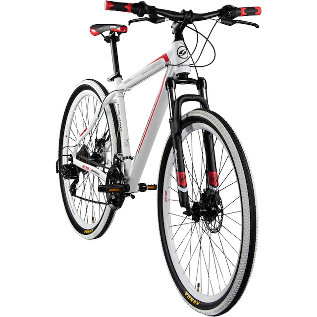 Galano Mountainbike »Toxic Twentyniner«, 21 Gang Shimano Tourney Schaltwerk, Kettenschaltung