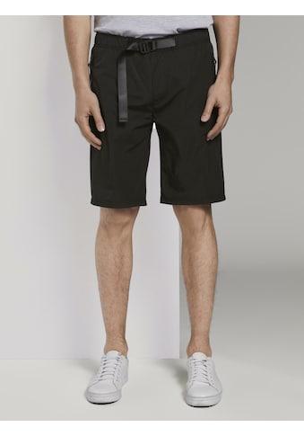 TOM TAILOR Denim Chinohose »Basic Shorts mit Gürtel« kaufen