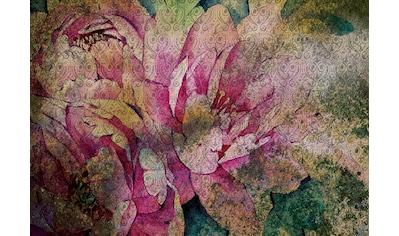 Consalnet Papiertapete »Vintage Blume«, floral kaufen