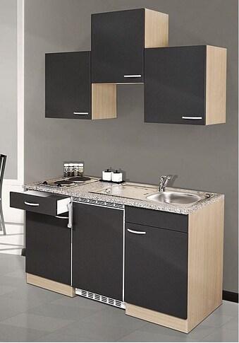 Singleküche, mit E - Geräten, Gesamtbreite 150 cm kaufen