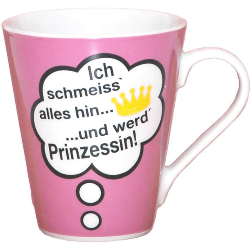 Retsch Arzberg Becher »Sprüche«, (6 tlg.), Porzellan