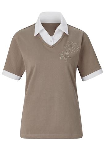 Classic Basics Shirt in beliebter 2 - in - 1 - Optik kaufen